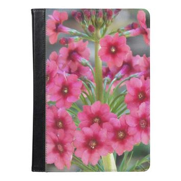 Red Primula Floral iPad Air Case