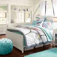 Beadboard Basic Bed + Trundle