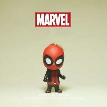 Deadpool Dead pool Taco Disney Marvel X-Men 10cm  2 Action Figure Posture Anime Doll Decoration PVC Collection Figurine Toys model for children AT_70_6