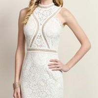Giselle White Lace Dress