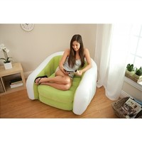 Retro Comfort College Chair - Inflatable College Furniture College Products Dorm Supplies Items For College Seating