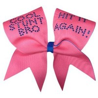 Chosen Bows Cool Stunt Bro Cheer Bow, Neon Pink