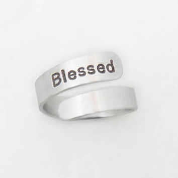 Blessed ring jewelry - Religious ring