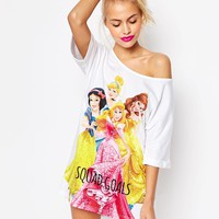 ASOS Disney Princesses Squad Goals Sleep Tee