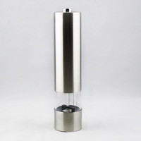 Electric Stainless Steel Pepper Mills - Salt Pepper Mill Grinder