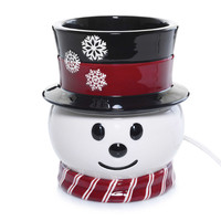 Yankee Candle® Electric Scenterpiece™ Snowman Easy Melt Cup Warmer