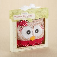 Baby Aspen Whooo's the Cutest? Owl Bloomer - Baby, Size: One Size (Blue)