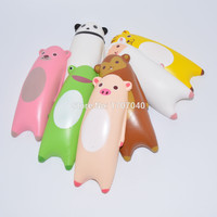 1PCS 14CM Jumbo Squishy Ikiru&friends Hand Pillow Cartoon Panda Tiger Monkey Sheep Bread Fun Toy