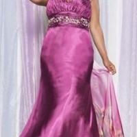 plus size prom gowns