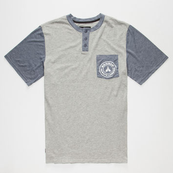 BOHNAM Owens Mens Henley Pocket Tee | Graphic Tees