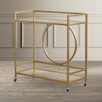 House of Hampton Alsager Bar Cart & Reviews | Wayfair
