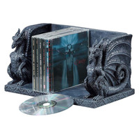 Park Avenue Collection Blackmore Dragons Library Holder