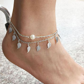 Women Anklet Ankle Bracelet Beach Foot Jewelry