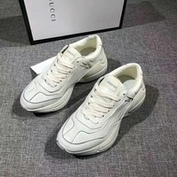 GUCCI Woman Men Fashion Breathable Sneakers Running Shoes