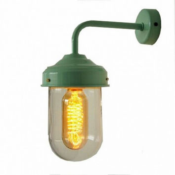 RH loft concise vintage industrial warehouse wall lamp light wall sconce