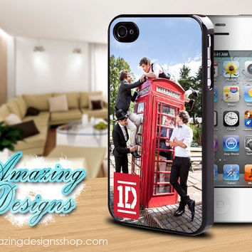 One Direction iPhone Case, Phone, Music Artist, Sexy, Unique, iPhone 4 Case, iPhone 4S Case, iPhone Case, Case for iPhone