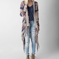 Paper Crane Striped Cardigan Sweater