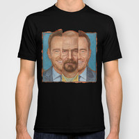 Walter White /Heisenberg - Breaking Bad T-shirt by Mark Baker Art