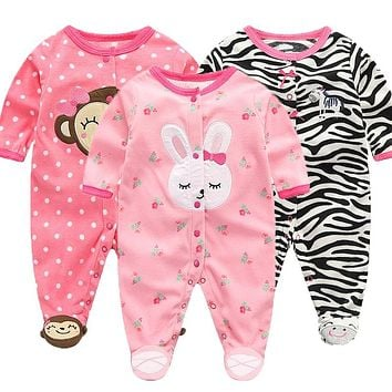 Lawadka Polar Fleece Baby Jumpsuits Baby Clothes for Newborns Girls Baby Clothing Long Sleeve Baby 0-3 Months Winter Boy Rompers