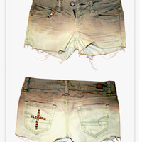 Faded Cross Shorts