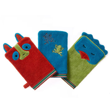 100% Organic Bath Mitt - Rainforest Collection