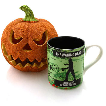 The Walking Dead Halloween zombie lover- home and living-ceramic coffee mug the waking dead funny mug for fan DL