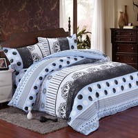 2015 new 4pcs cotton wen bedding-set bedding sets duvet cover jogo roupa de cama king size bedclothes bedspread no comforter