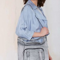 She and Lo Next Chapter Leather Hobo Bag