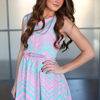 Country Club Belted Dress