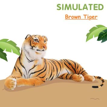 Tiger Realistic Giant Stuffed Animal Plush Toy 67""