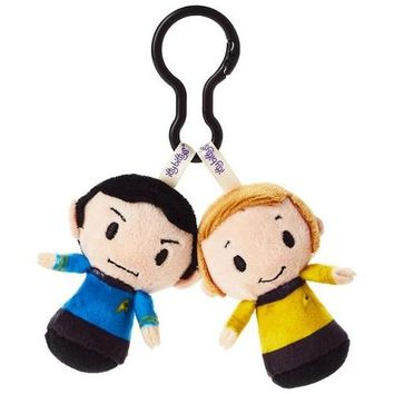Star Trek™ Mr. Spock™ and Captain Kirk™ itty bittys® Clippys Stuffed Animals