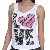 Zebra Love Woven Tank | Shop Just Arrived at Wet Seal