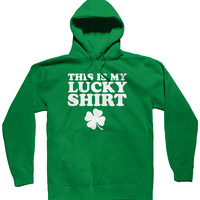 This Is My Lucky Shirt Hoodie, St Patricks Day