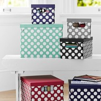 Dottie Printed Storage Bins