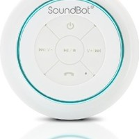 SoundBot SB517 IPX7 Water-Proof Bluetooth Speaker (Blue/White)