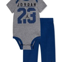 Jordan Baby Boys' 2-Piece Graphic Bodysuit & Pants Set | macys.com