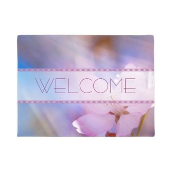 Cherry flower Heaven light Doormat
