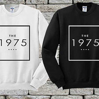 The 1975 Black White sweater Sweatshirt Crewneck Men or Women Unisex