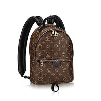 Louis Vuitton Stylish Canvas Backpack Handbag High Quality I