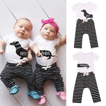 Best Friends Outfit for  Siblings,Friends or Twins