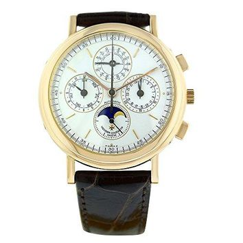 Vacheron Constantin Perpetual Calendar automatic-self-wind mens Watch 49005/1 (Certified Pre-owned)