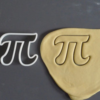 Pi cookie cutter, 3D printed
