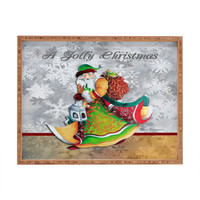 Madart Inc. A Jolly Christmas Rectangular Tray