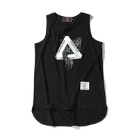 Sleeveless Vest T-shirts [10544440007]