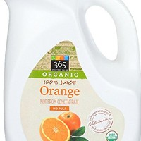 365 Everyday Value, Organic 100% Orange Juice Not From Concentrate, No Pulp, 89 fl oz