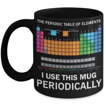 The Periodic Table Of Elements I Use This Mug Funny Chemistry Science Mug