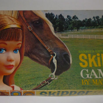 Vintage Barbie's Little Sister Skipper Board Game