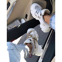 GUCCI Flashtrek sneaker with crystals-8