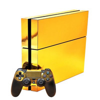 Gold Skin - PS4 Protector