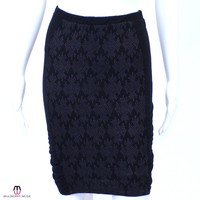 Knit Paneled Skirt